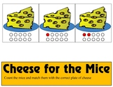 Cheese for Mice  Ten Frame - Counting 0-10 Mats - Learning