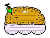 Cheeseburger Book Report Project Templates