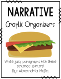 Hamburger/Cheeseburger Graphic Organizer - Narrative Writing