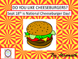 #backtoschool Cheeseburger Informational Writing and Sequencing