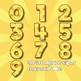 Cheesy Alphabet Alpha Clip Art