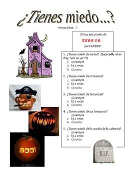 Cheesy Halloween Quiz (Tienes miedo de...?)