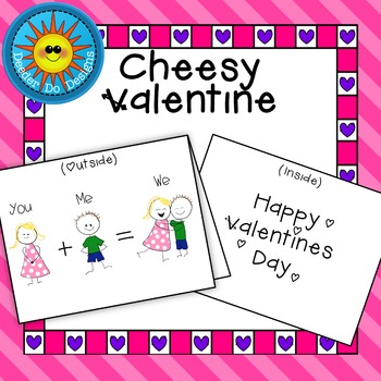 "Cheesy Valentine- ""You Plus Me"""