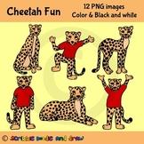 Cheetah Fun Clip art