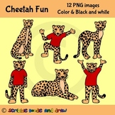 Cheetah Fun Clip art
