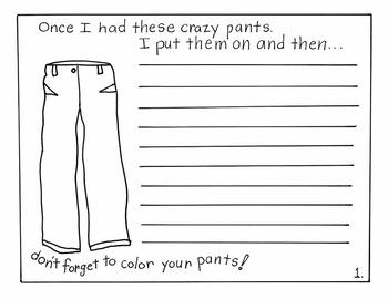Cheetah Pants, A Kindergarten-1st grade Literature Unit