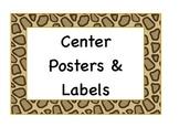 Cheetah Poster Pack