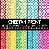 Cheetah Print Digital Paper