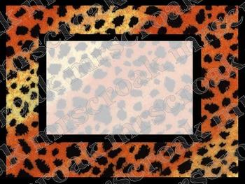 Labels: Cheetah Print, 10 per page