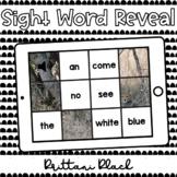 Cheetah Sight Word Reveal Set 4   Kindergarten Boom Cards
