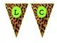 Cheetah Welcome Pennants
