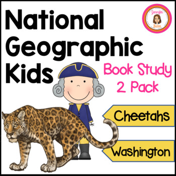 Cheetahs and George Washington Informational Book Club Packets