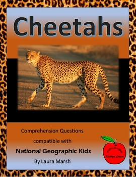 Cheetahs / Compatible with National Geographic Kids