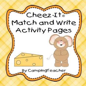 Cheez-It Match and Write