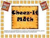 PDF: Cheez-It Scrabble Math-Area, Perimeter, Arrays, Graphing, & Word Study