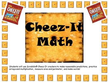 PDF: Cheez-It Scrabble Math-Area, Perimeter, Arrays, Graphing, & Word Study