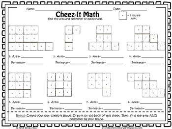Cheez-Its Awesome: Area & Perimeter