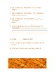 Cheez-it Area Activity, Pre-test and Post-test