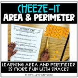 Cheeze-it Area and Perimeter!