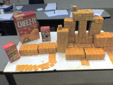 Cheezits are one square inch !