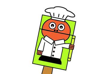 Chef Bag Hand Puppet