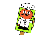 Chef Bag Hand Puppet (Occupations)
