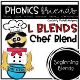 L Blends: Chef Blend Phonics Friends