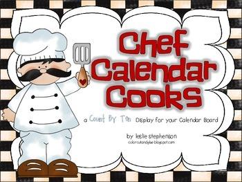 Chef Calendar Cooks