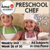 Preschool Community Helpers Chef Baker Printables (Week 26)
