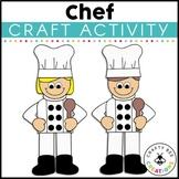 Community Helper Craft | Chef Craft | Baker | Career Day | Career Exploration