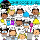 Chef Doodle Kids Clipart (Cooking Clipart)