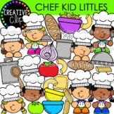 Chef Kid Littles (Cooking Clipart)