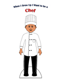 Chef Paper Doll Outfit
