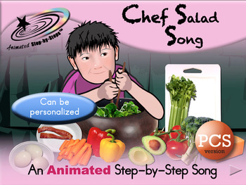 Chef Salad - Animated Step-by-Step Song - PCS