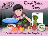 Chef Salad Song - Animated Step-by-Step Song - Regular