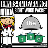 Chef Themed Sight Word Packet