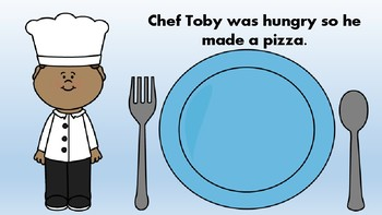 Chef Toby is Hungry Adapted Book