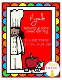 Chef Unit: Math, Writing, and Reading in a 1st grade classroom