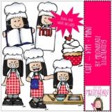 Chef clip art - Kym - Mini - by Melonheadz Clipart