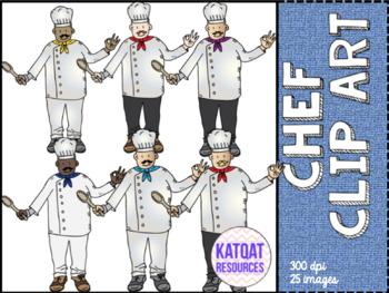 Chef (male) Clip Art