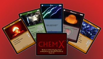 ChemX Chemical Equation Balancing Card Game