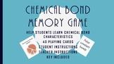 Chemical Bond Memory Game