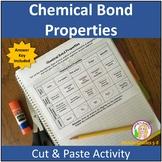 Chemical Bond (cut & paste) Activity