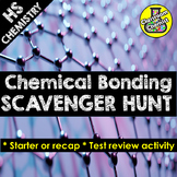 Ionic and Covalent Bonding Activity - Scavenger Hunt