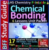 Chemical Bonding BFF: Homework Helper and Test Prep Guide