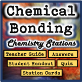 Chemical Bonding Chemistry Stations: Covalent, Ionic, and Metallic Bonds