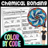 CHEMICAL BONDING SCIENCE COLOR BY NUMBER, QUIZ