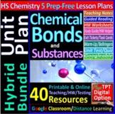 Chemical Bonding & Substances Topic Bundle: 5 Essential Sk