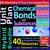 Chemical Bonding & Substances Topic Bundle: 5 Essential Sk