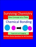 Chemical Bonding - Engaging Multiple Choice Question Sets for HS Chemistry